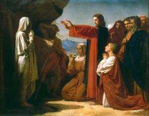Foto:: Învierea lui Lazăr, de Leon Bonnat, 1857. Sursa: http://countyroad21.com/