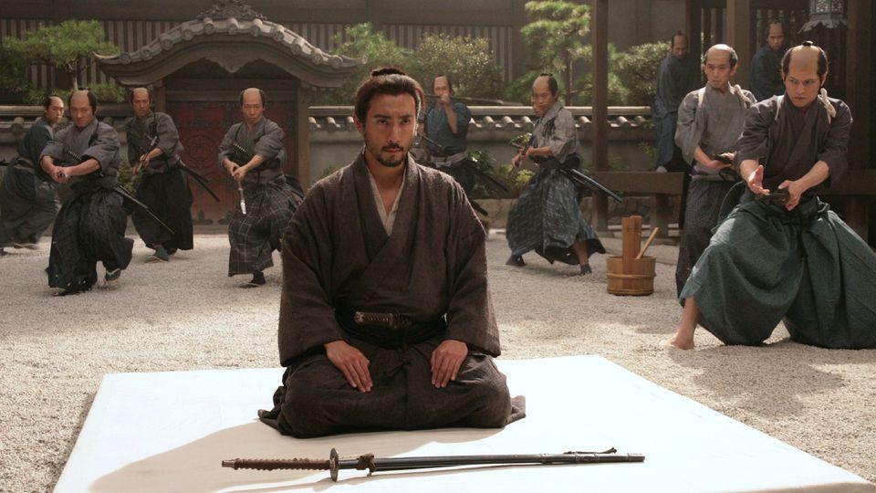 """Secvență din filmul """"Death of a Samurai"""" (Moartea unui samurai) Sursa foto: http://www.avclub.com"""